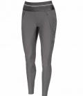 Pikeur Reithose Damen Gia Grip Athleisure - steel grey