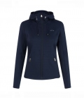 HV Polo Hooded Damen Clarice Zip FS´19 - navy