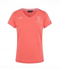 HV Polo T-Shirt Damen Favouritas Tech SS FS´19 - coral