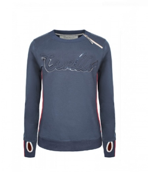 Cavallo Sweat Shirt Damen Malva mit seitl. Zip