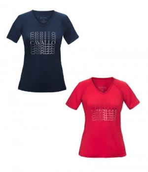 Cavallo T-Shirt Damen Maren V-Ausschnitt