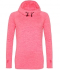 Textil Hoody CoolFit Sport - pinkmelang