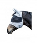 HKM Fliegenmaske New Mexiko mit Ohren - grau
