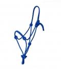 Waldhausen Knotenhalfter Paretti Rope der Klassiker - blau