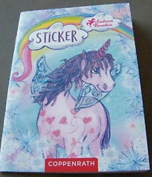 Sticker Einhorn Paradies 16 Seiten