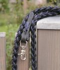 Barefoot Zügel Amber geschlossen Seil Zügel - schwarz-blau