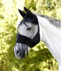 Kerbl Fliegenmaske mit Nüsternkordel - schwarz