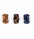 Barefoot Zügel Amber Western abnehmbare Snaps - schwarz blau
