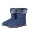 HKM Winterstiefel Davos Fur warm wasserdicht - dkl.blau