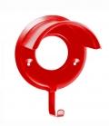 Waldhausen Trensenhalter Metall robust in Farbe** - rot