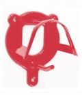 Waldhausen Trensenhalter Metall in Farbe - rot