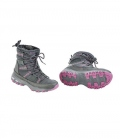 Busse Thermoschuh Burnaby Winter leicht warm - greymelange/pink