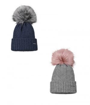 Pikeur Mütze mit Fell Imitat Bommel
