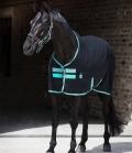 Horseware Sommerdecke Amigo Stable Sheet Kreuzgurt - black-teal