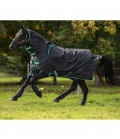 Horseware Turnoutdecke AmigoHeroPlus 900D Disc100g - black/teal