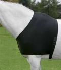 Brustschutz Schulterschutz dehnbar - schwarz