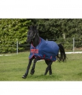 Horseware Turnoutdecke Amigo Mio lite 600D (15) ** - navy/red