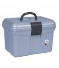 Waldhausen Putzbox aus robustem Kunststoff - silbergrau
