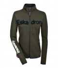 Eskadron Shirt Zip Fleece Women Nicky HW´19 - oliv