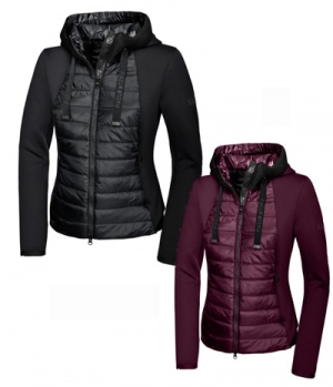 Pikeur Jacke Ivori NG Materialmix Funktion HW19