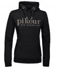 Pikeur Sweat Shirt Ira NG Schalkragen HW´19 - schwarz