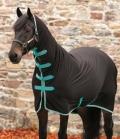 Horseware Abschwitzdecke Amigo Jersey Cooler - black-teal