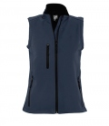 Textil Weste Softshell Women - navy