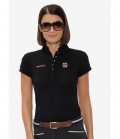 Spooks Polo Shirt Damen Viola FS´19 - schwarz