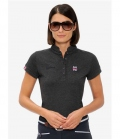 Spooks Polo Shirt Damen Viola FS´19 - grau