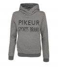 Pikeur Sweat Shirt Hoody Lara HW 69,95€ - grau-gestreift