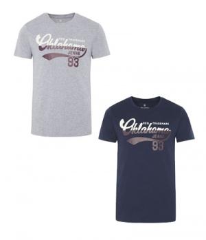 Oklahoma T-Shirt Men Oklahoma Jeans