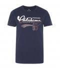 Oklahoma T-Shirt Men Oklahoma Jeans - navy