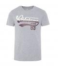 Oklahoma T-Shirt Men Oklahoma Jeans - grau