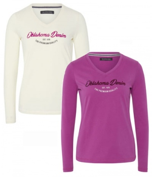 Oklahoma Shirt Women Millicent Longsleeve