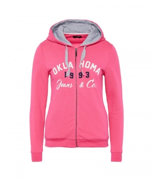 Oklahoma Jacke Sweat Women Hoody