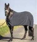 USG Abschwitzdecke Fleece breiter Verschl.SP - schwarz