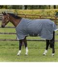 Horseware Turnoutdecke Rhino light new - charcoal-b