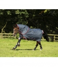 Horseware Turnoutdecke Amigo Bravo 12 Plus 250g** - navy/red