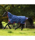 Horseware Turnoutdecke Amigo Mio Lite All-In-One - navy-rot