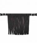 Waldhausen Fliegenfransen Stirnband mit Schnallen - schwarz