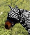 Waldhausen Fliegenmaske Zebra weich - Zebra