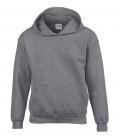 Textil Hooded Sweatshirt Youth Kängurutasche - graphit