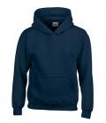 Textil Hooded Sweatshirt Youth Kängurutasche - navy