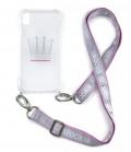 Spooks Handyhülle für Galaxy S7 S8 S9 - blush/silv