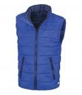 Textil Weste Junior Reißverschluss Taschen - royalblau dunkelblau