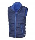 Textil Weste Junior Reißverschluss Taschen - navy/royal
