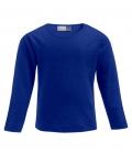 Textil Long Sleeve Youth Promodoro - royalblau