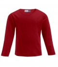 Textil Long Sleeve Youth Promodoro - rot