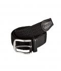 Pikeur Gürtel geflochten mit Leder Unisex - schwarz