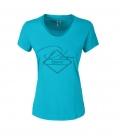Pikeur T-Shirt Damen Yva mit Steinchen FS´20 - caribbean